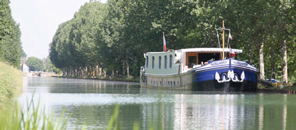 France Barge tours