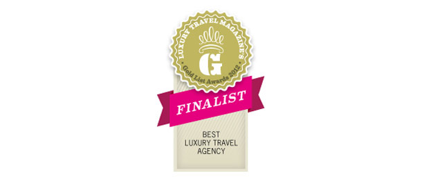 2012 Gold List Finalist Luxury Travel Magazine