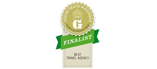 Luxury Travel Magazine 2014 Gold Finalist